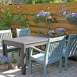Garten möbel streichen