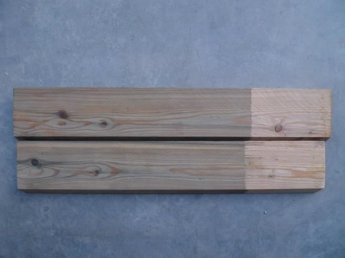 Holz-ergrauen