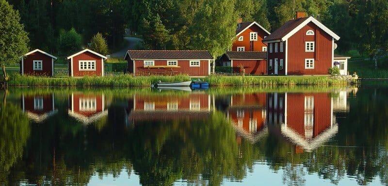 Matte Holzfarbe Schwedischer Farbenhandel