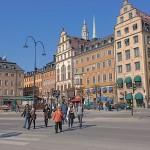 schwedischer Farbenhandel Stockholm