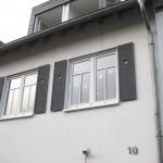Fensterladen streichen