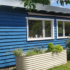 Sommerbla gartenhaus